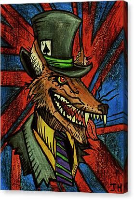 A Dapper Rogue Canvas Print by John  G L Horvath