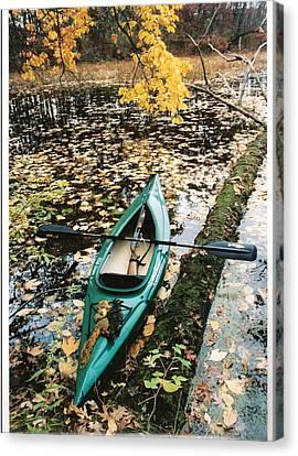 A Fall Harvest Canvas Print by Gerald Strine