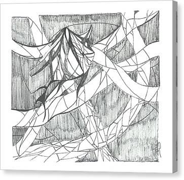 A Fish Canvas Print by Robert Meszaros