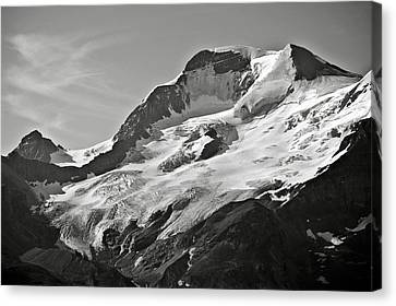 A Glacier In Jasper National Park Canvas Print by RicardMN Photography