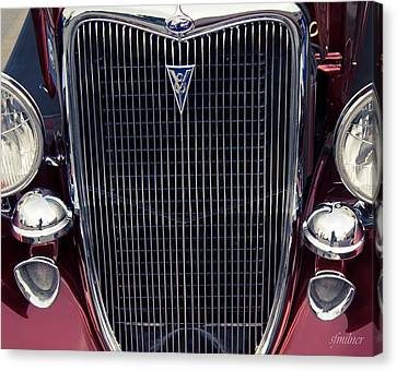 A Grill To Remember Canvas Print by Steven Milner