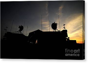A Ground Control Station Which Operates Canvas Print