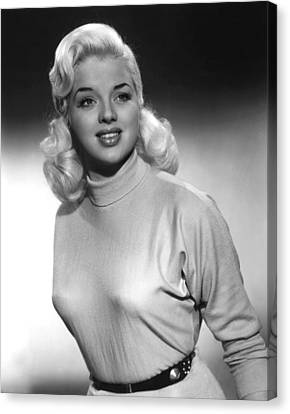 A Kid For Two Farthings, Diana Dors Canvas Print by Everett