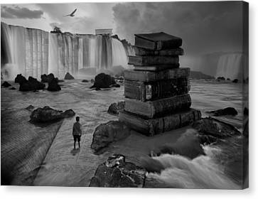 A Lifetime Of Learning Canvas Print by Keith Kapple