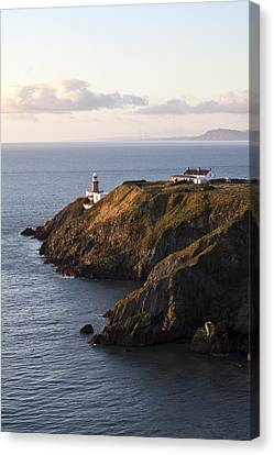 A Lighthouse On A Hill Ireland Canvas Print by Peter McCabe