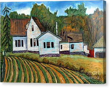 Indiana Landscapes Canvas Print - A Little More Room by Charlie Spear