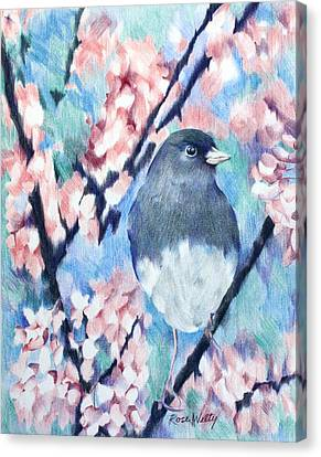 A Lovely View Canvas Print by Rose Welty