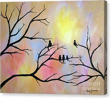 A Luminous Light Canvas Print by Stacey Zimmerman