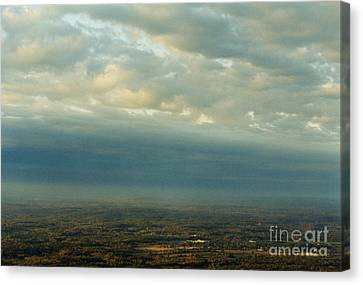 A Majestic Birds Eye View Canvas Print by Thomas Luca