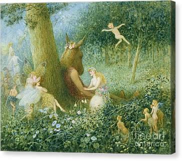 A Midsummer Night's Dream Canvas Print by HT Green
