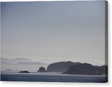 A Misty Afternoon On Haida Gwaii Canvas Print by Taylor S. Kennedy