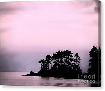 A Moment Of Tranquility Canvas Print by Gail Bridger