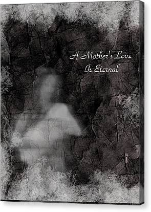 A Mother's Love Canvas Print by Rhonda Barrett
