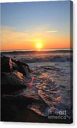 A New Day Canvas Print by Everett Houser
