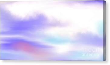 Canvas Print featuring the painting A New Day by Lori  Lovetere
