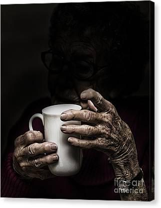 A Nice Cup Of Tea Canvas Print by Avalon Fine Art Photography