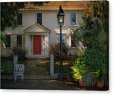 A Place In The Shade Canvas Print by Robin-Lee Vieira