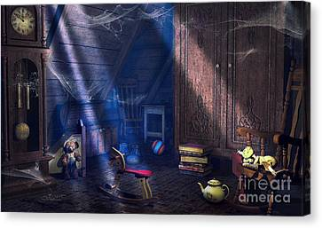A Place Of Memories Canvas Print by Jutta Maria Pusl