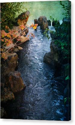 A Place Of Rest Canvas Print by Bonnie Bruno