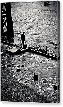 Canvas Print featuring the photograph A Quiet Moment... by Lenny Carter