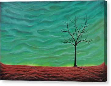 Bare Trees Canvas Print - A Rhapsody Recalled by Rachel Bingaman