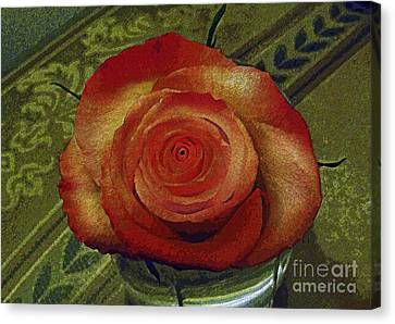 Flowers Names Canvas Print - A Rose By Any Other Name by Al Bourassa