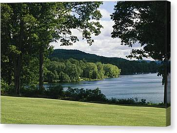 A Scenic View Of Otsego Lake Canvas Print