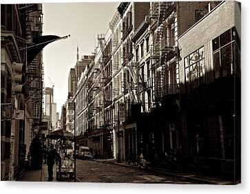A Slice Of Soho Canvas Print by Eric Tressler