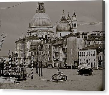 A Slice Of Venice Canvas Print by Eric Tressler