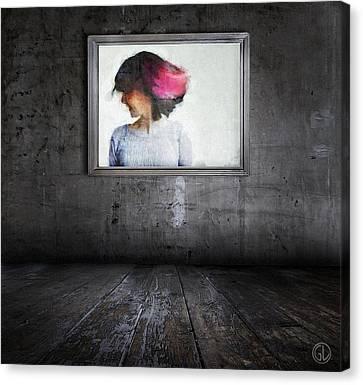A Smile Can Brighten Up A Dark Room Canvas Print by Gun Legler