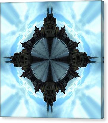 A Spin In Prague 2 Canvas Print by John O Doherty