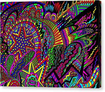 A Star Is Taken Canvas Print by Karen Elzinga