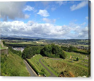 A Stirling View Canvas Print by Michael McKenzie
