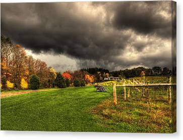 Storm Is Brewing Canvas Print