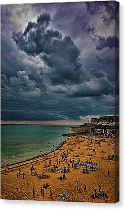 A Summer Day At Broadstairs  Canvas Print