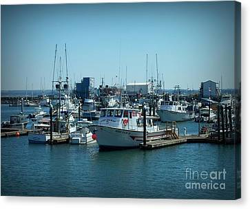 A Sunny Nautical Day Canvas Print