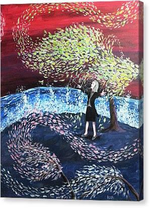 A Symphony Of Life Canvas Print by Katchakul Kaewkate