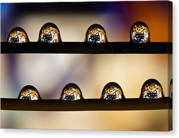 A Treasure Of Dice And Gems Canvas Print by Marc Garrido