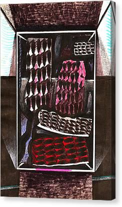 A Trip Of A Thousand Miles Canvas Print by Al Goldfarb