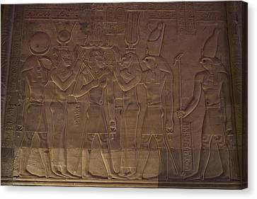 A Variety Of Gods Are Shown Depicted Canvas Print