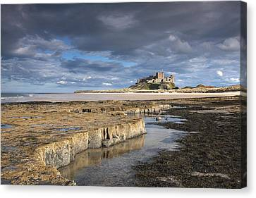 A View Of Bamburgh Castle Bamburgh Canvas Print