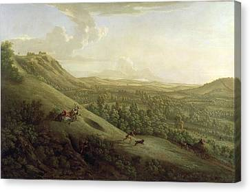 A View Of Boxhill - Surrey Canvas Print by George Lambert