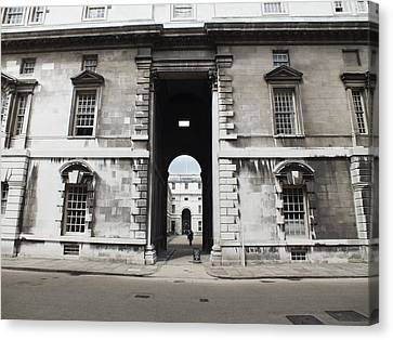 Canvas Print - A View Of The Royal Naval College by Anna Villarreal Garbis