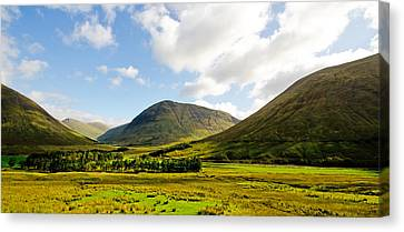 A View Over Rannoch Moor Canvas Print by Chris Thaxter