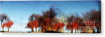 A Walk On The Esplanade Canvas Print by Dana DiPasquale