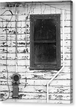 A Window Into Christmas Past Canvas Print by Bob Russman