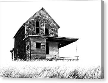 Abandoned House Canvas Print - Abandoned And Alone 2 by Bob Christopher