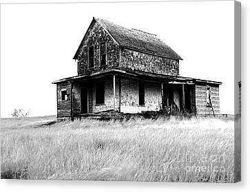 Abandoned And Alone Canvas Print by Bob Christopher