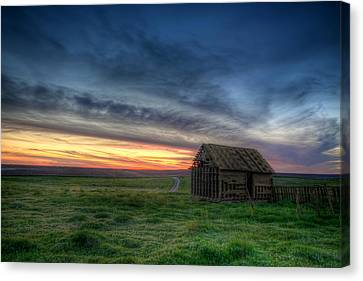 Abandoned Beauty Canvas Print by Thomas Zimmerman