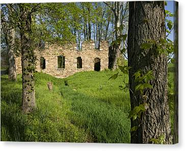 Canvas Print featuring the photograph Abandoned Cider Mill by Jim Moore